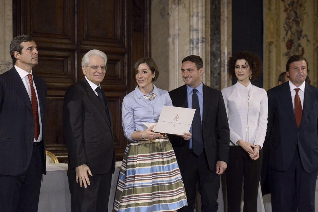 Al #Quirinale è stato assegnato il Premio @liujoluxury per il #lusso accessibile