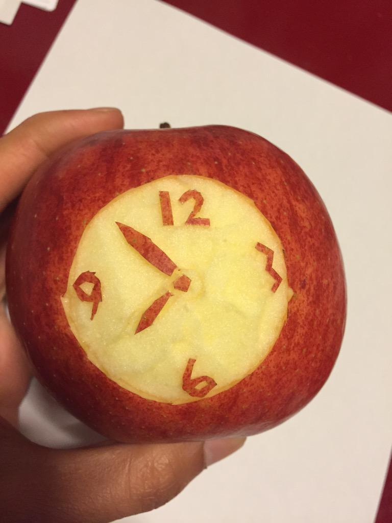 アップルウォッチ、美味しかったです pic.twitter.com/3b2a5KH6oU