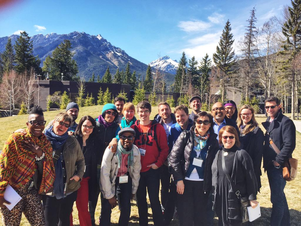 Welcoming #CulturalLeadersLab participants - campus tour @thebanffcentre @TorontoArts @JerroldMcGrath @kevinaormsby http://t.co/k4IapfdAyQ