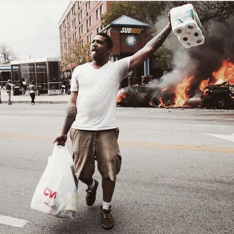Baltimore police release 101 protesters because of paperwork
