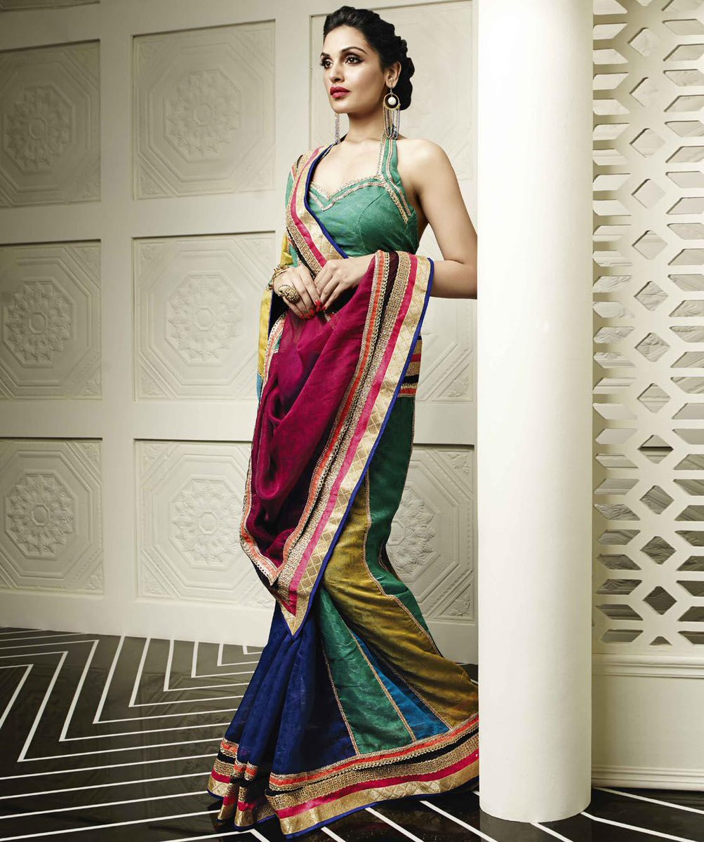 Which Designer's Saree is this?   Hint: Rush to FashionAndYou! http://t.co/ULkSFcYPQi