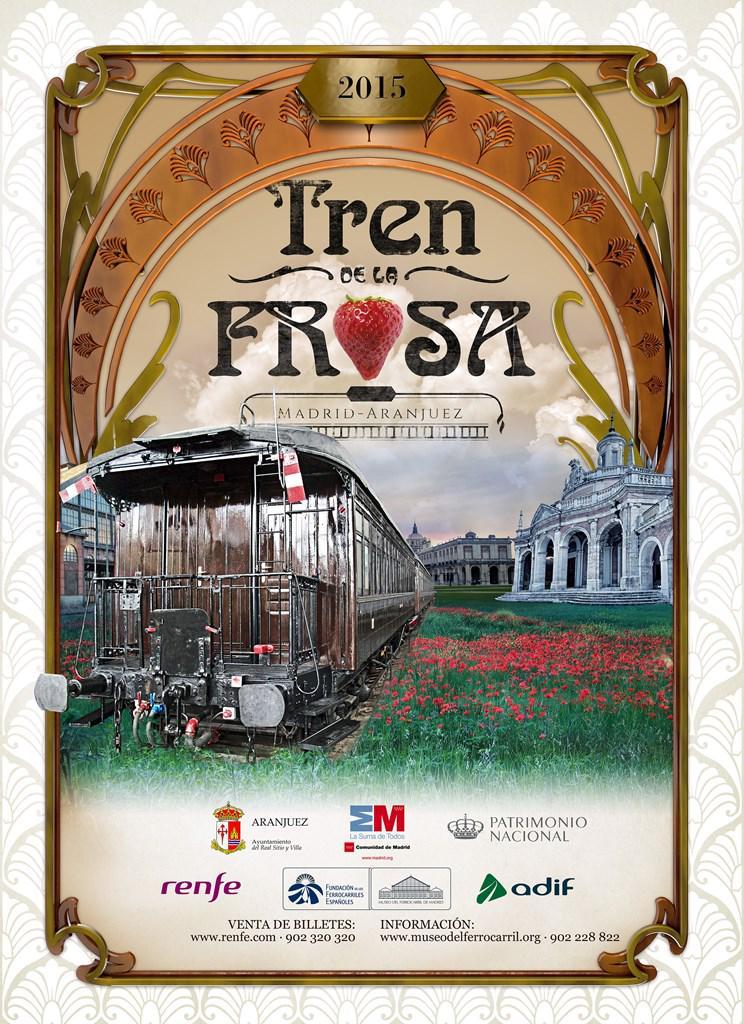 Cartel Tren de la Fresa 2015