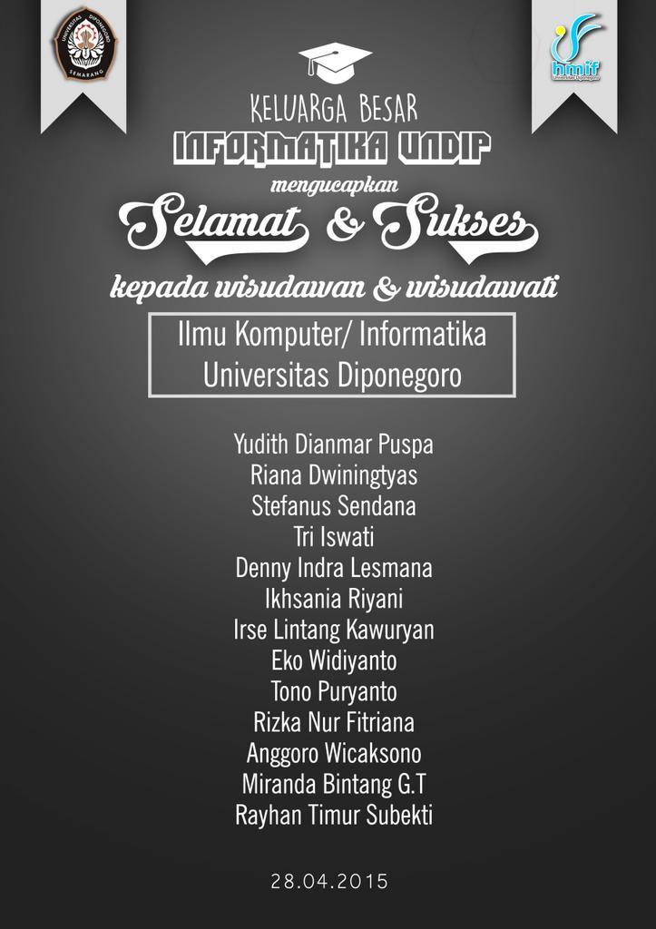 Wisudawan Wisudawati Informatika