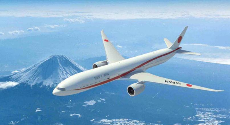 Elegant new livery for Japan's new Air Force One #Boeing 777 jets http://t.co/FGdpx2x00F #aviation #avgeek http://t.co/4DIon24SBk