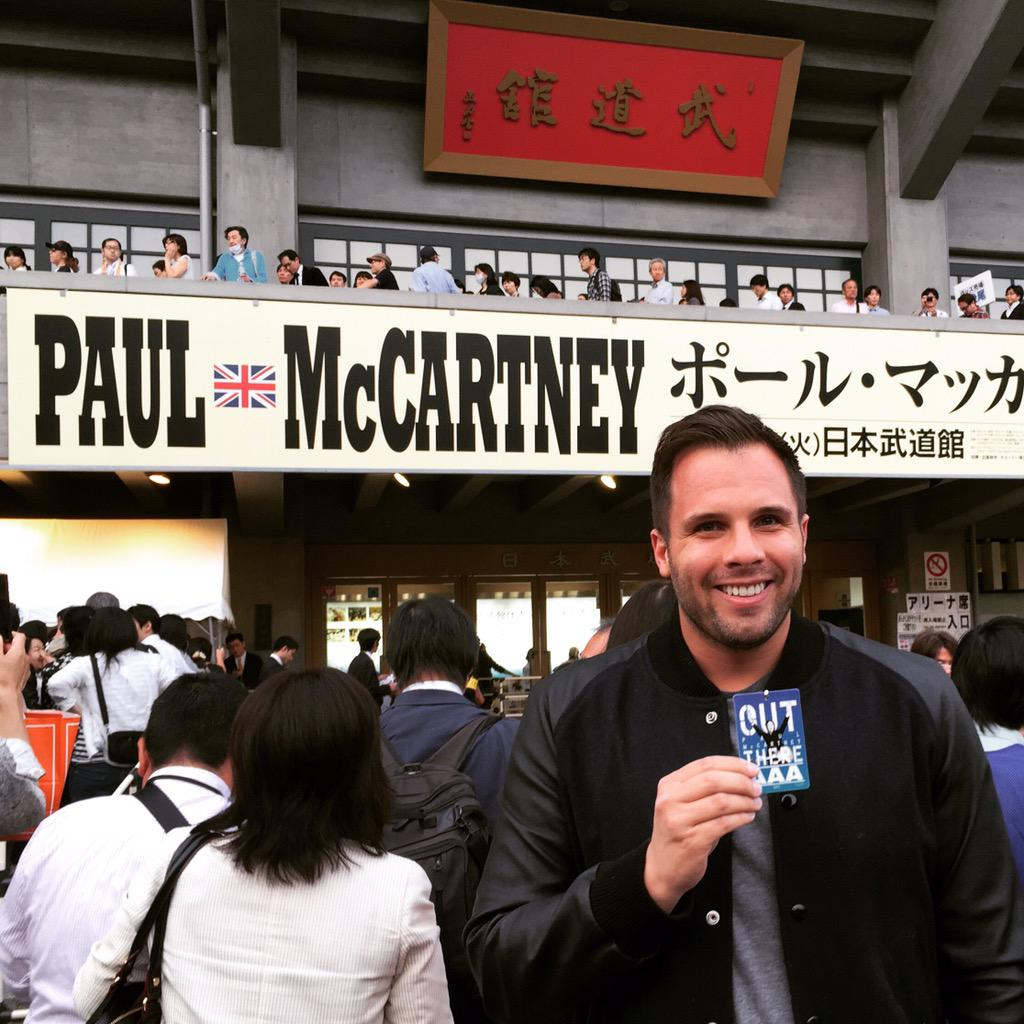 With only a 10,000 capacity at the Budokan for one night only of Macca, it's the hottest ticket in Tokyo. http://t.co/CMTNgRSWD7