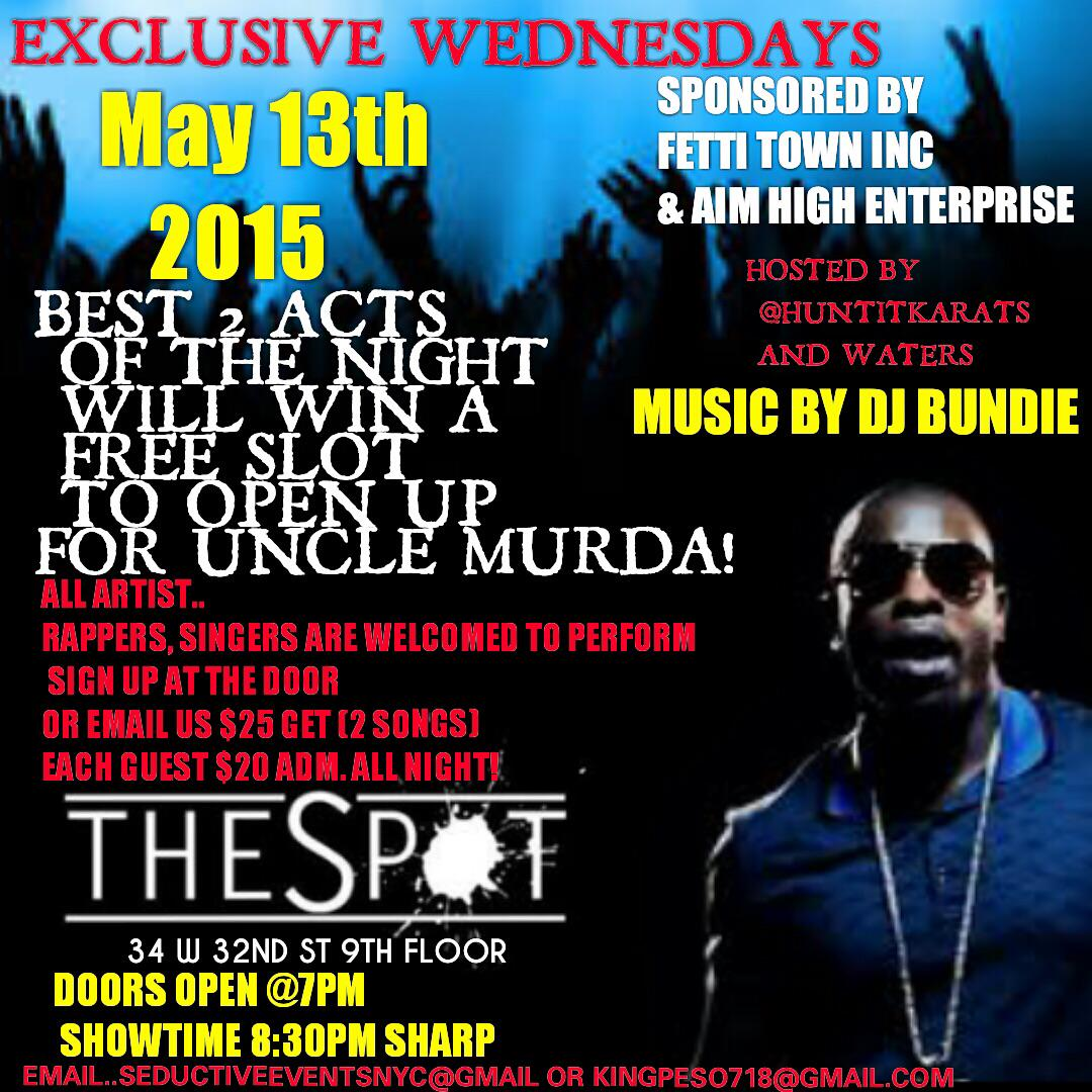 #ARTIST WELCOMED TO PERFORM #NYC #OPENMICS #SHOWCASES #INDUSTRYEVENTS #NJ #SHOWS #HIPHOPSHOWCASES #ARTISTSHOWCASES http://t.co/sPp5CbsG9F