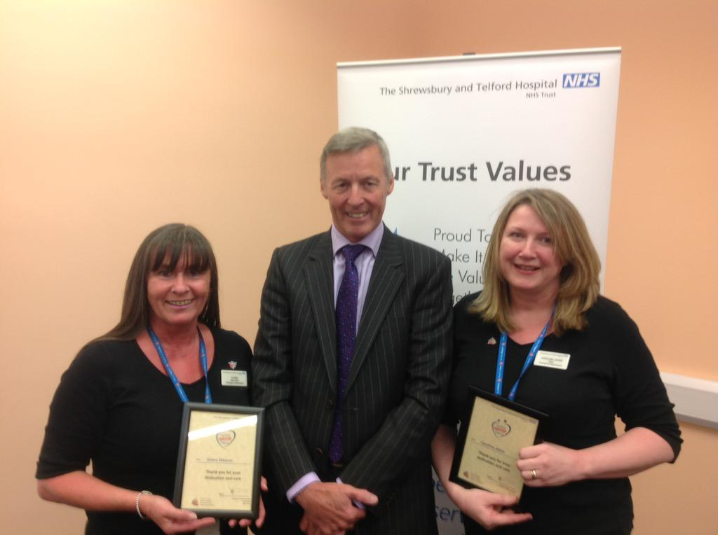 Elaine and Caroline work in @sathRSH A&E and leave no stone unturned to build a happy team http://t.co/eDVRiJuwE7