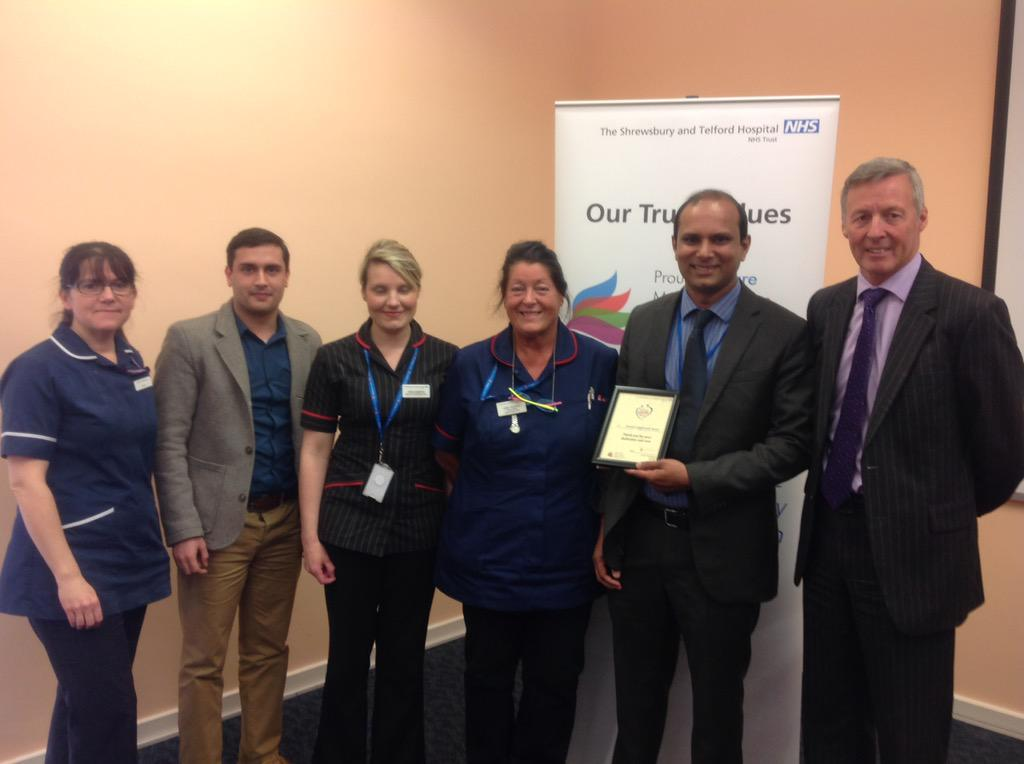 """A patient who was """"terrified of all medical intrusions"""" nominated Suresh Sagili & colleagues for their consideration http://t.co/GB3PLM1wQD"""