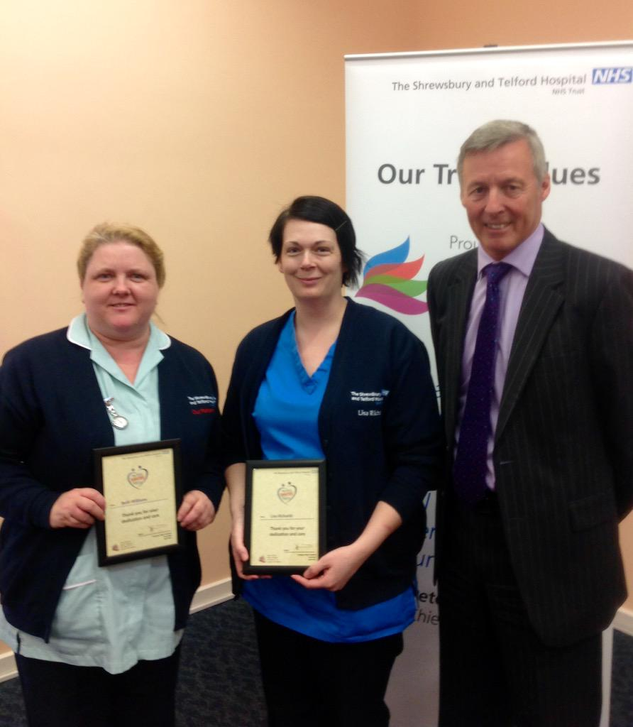 Beth and Lisa were nominated by colleagues for always putting teamwork into action http://t.co/tuBRIL0vCB