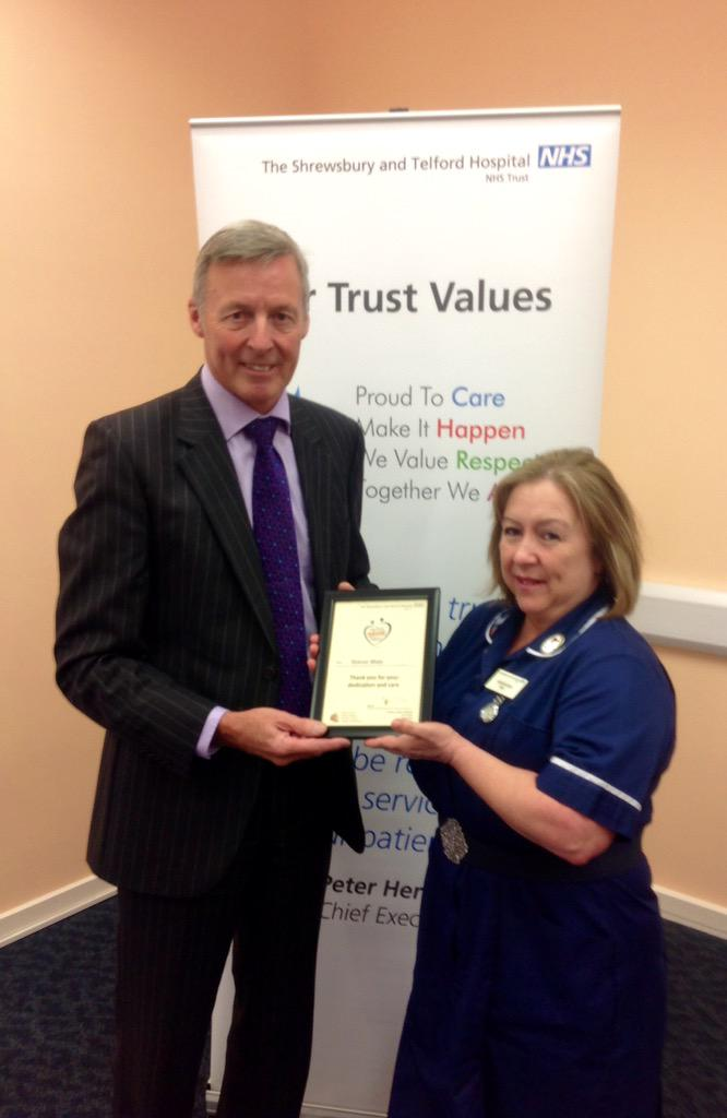 Sharon Main was nominated for her hard work and leadership for a temporary ward during the winter http://t.co/kYkPFkKeSt