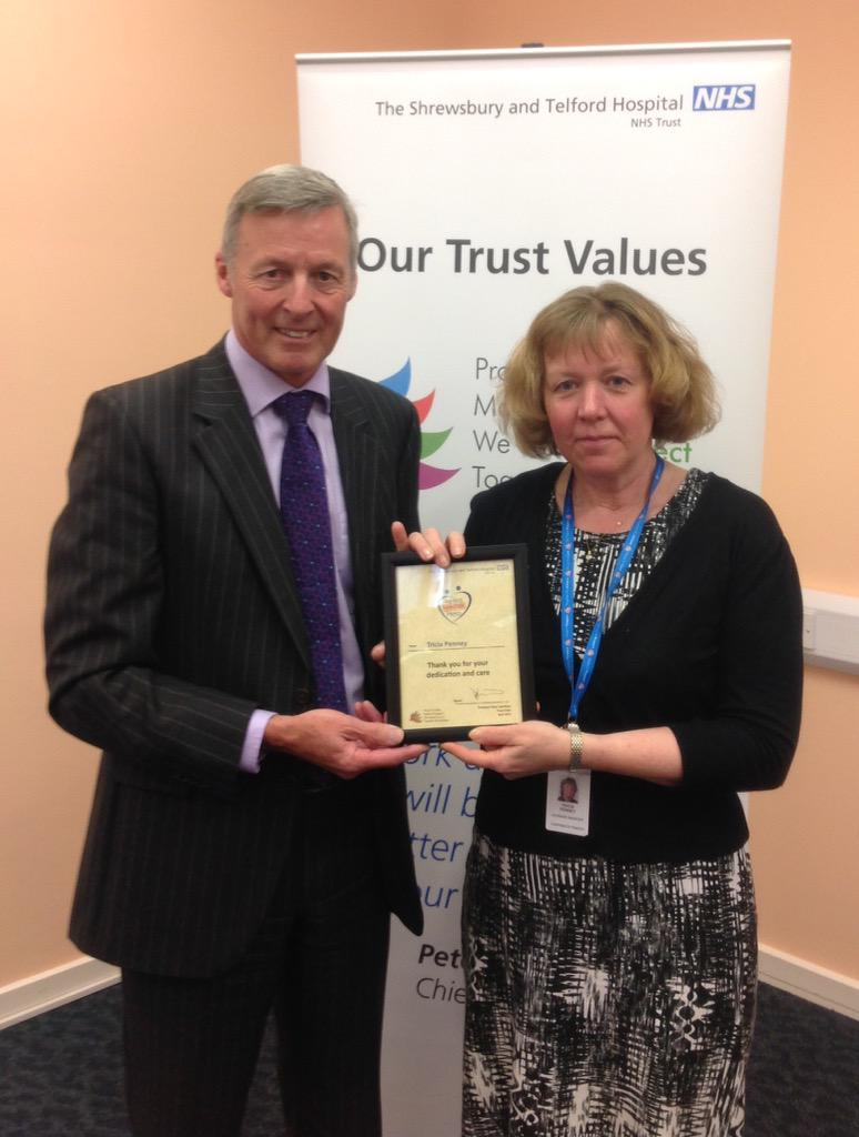 Tricia Penney was nominated for her quiet, confident and competent support for colleagues http://t.co/Haenrc0M3C