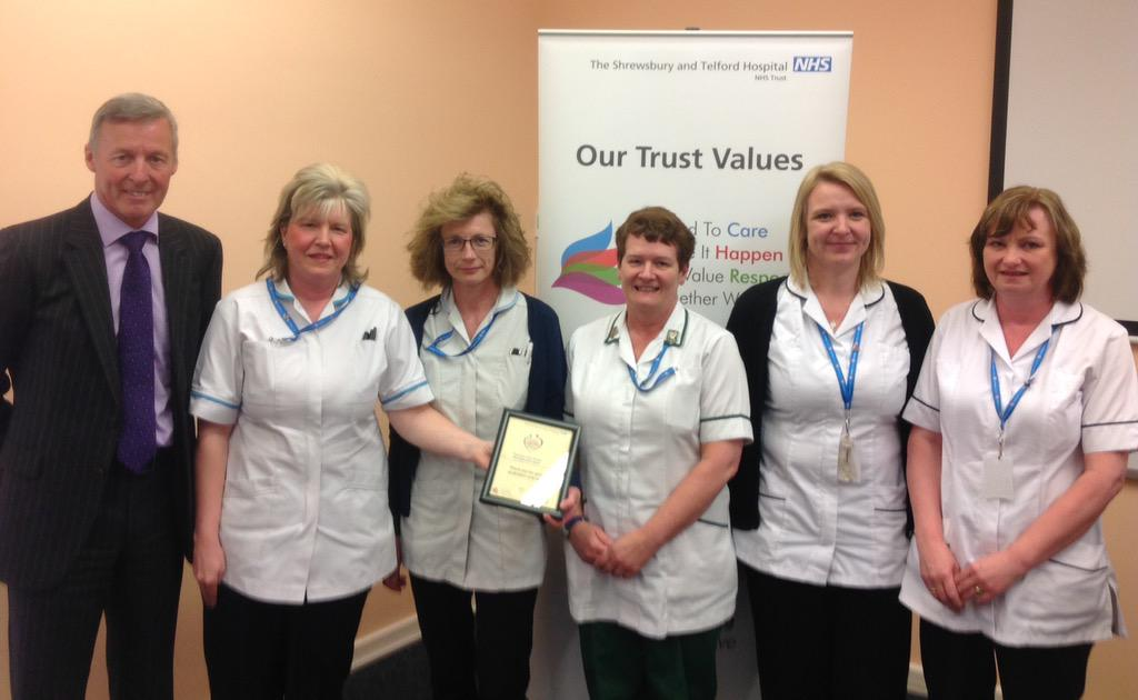 Members of the Therapy Care Group Management Team provided vital support for weekend & evening working this winter http://t.co/TjUgd9WEc2