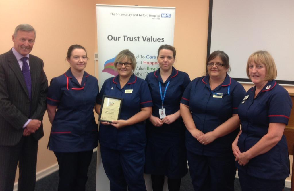 Here are members of the Clinical Site team at @sathRSH - they are vital to 24-7 care in the hospital http://t.co/wQA4wUx8wb