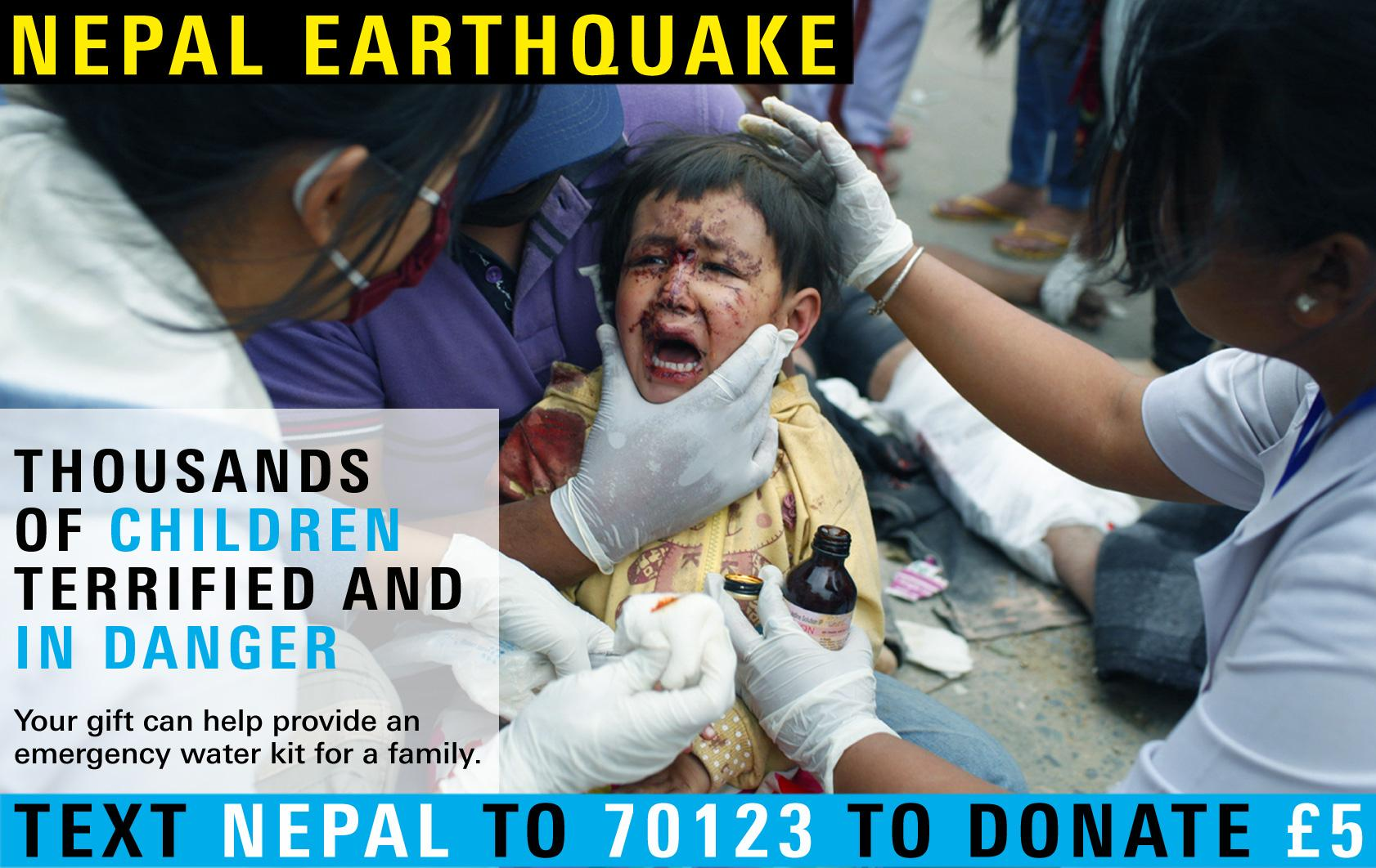 RT @UNICEF_uk: PLS RT: Help 3 million children in danger in #Nepal  Text NEPAL to 70123 to donate £5  T&Cs: http://t.co/bHLIQGp1TH http://t…