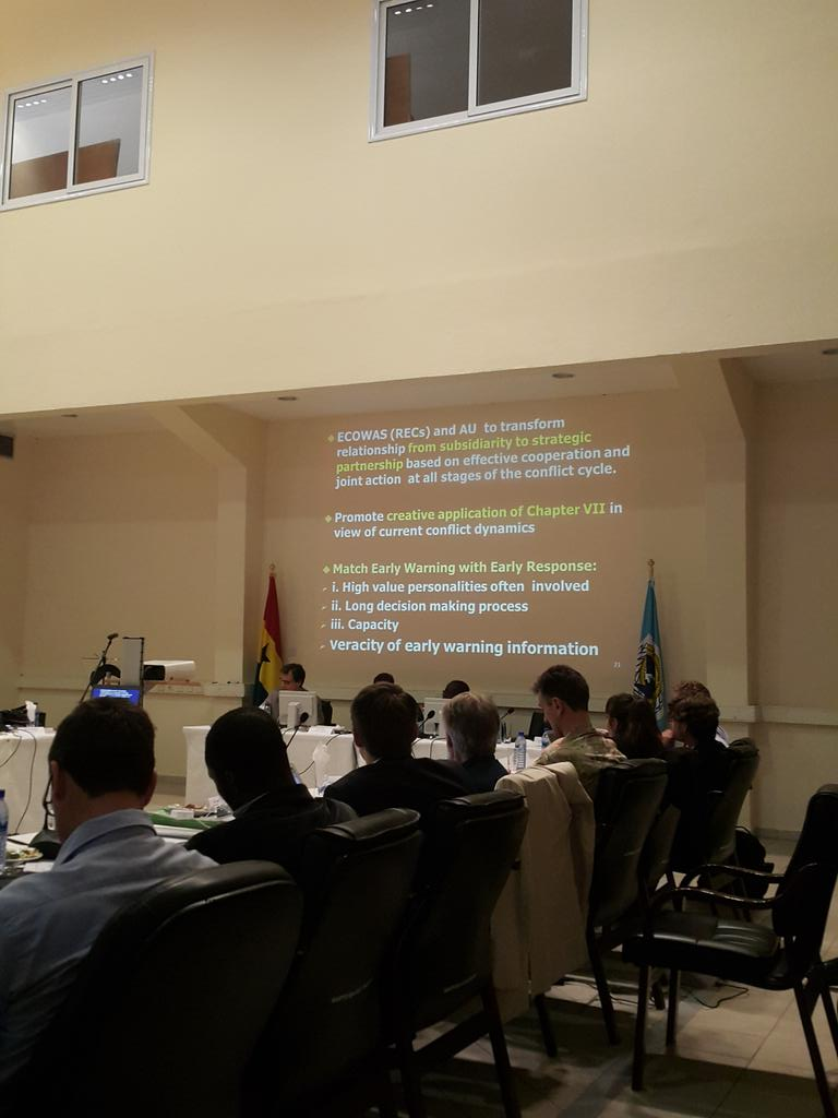 #ecowas and @_AfricanUnion need to establish a strategic relationship, says Professor @WanjohiK @wacsof_foscao http://t.co/V9hgFdTt0j