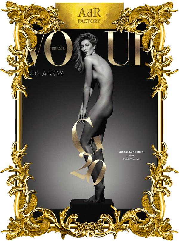 #GiseleBundchen celebrated 20 years of career on #VogueBrasilMay15 issue by @inezandvinoodh http://t.co/qy6kNBRRia http://t.co/omgwNyq4m9