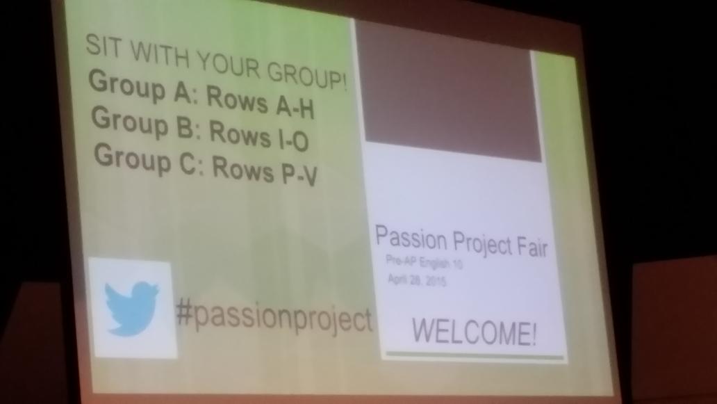 Big day #passionprojectfair http://t.co/8NPbA3hUx8