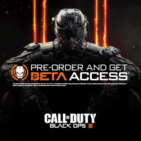 We have (3) #BlackOps3 Beta codes to GIVEAWAY! Just RT & FOLLOW for a chance to win in 48 hours! #CIgiveaway http://t.co/1aSCK2gN5i