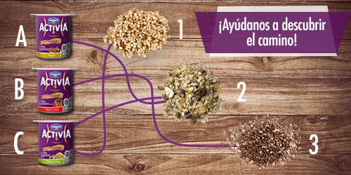 ¿Fánatica de las semillas, cereales y frutos secos? Entonces, los Acitiva Fibras Zero son tus aliados. http://t.co/r1Rn0uvIf9