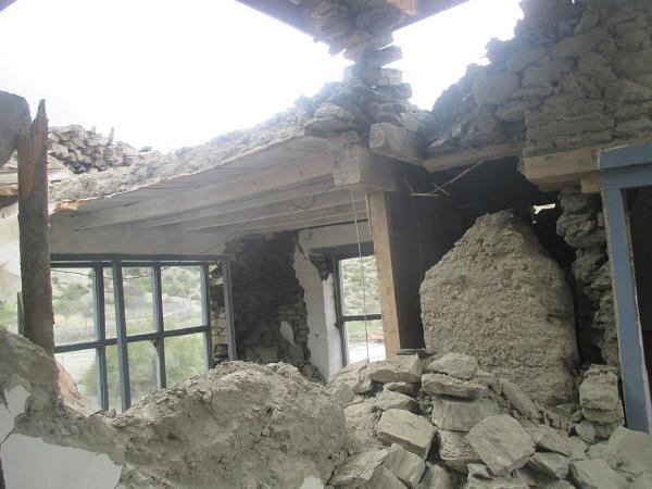 जोमसोममा जमिन भासिन थाल्यो, १६ वटा घर ढले