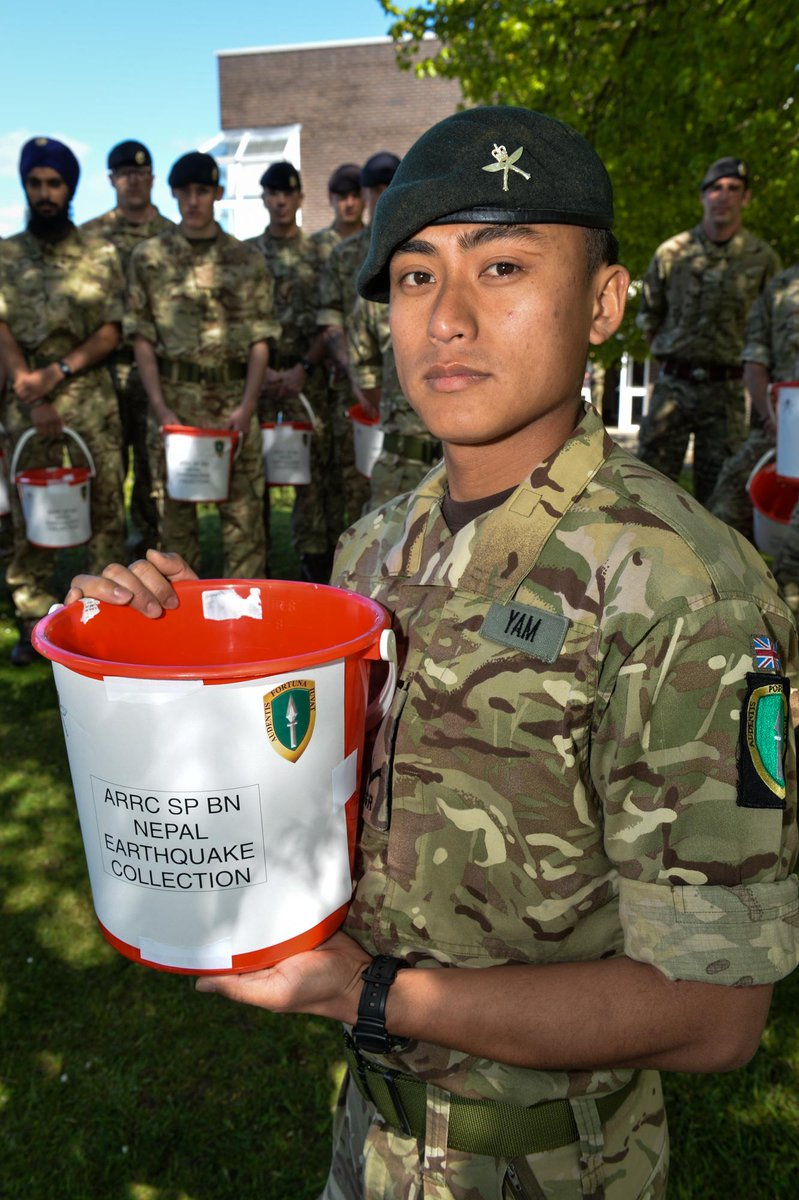 Thank you! You helped raise over £1,000 in 24hrs-Gurkha Welfare Trust @gwtorg Click http://t.co/zsflYmVCmv to give http://t.co/EacFLo7ITT