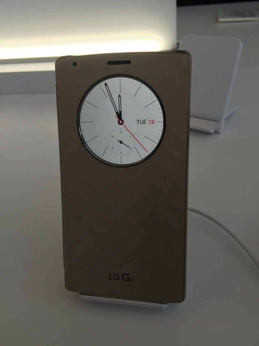 big sale 55365 467cc Quick Circle case for #LGG4 rocks. Love the round clock. | Scoopnest