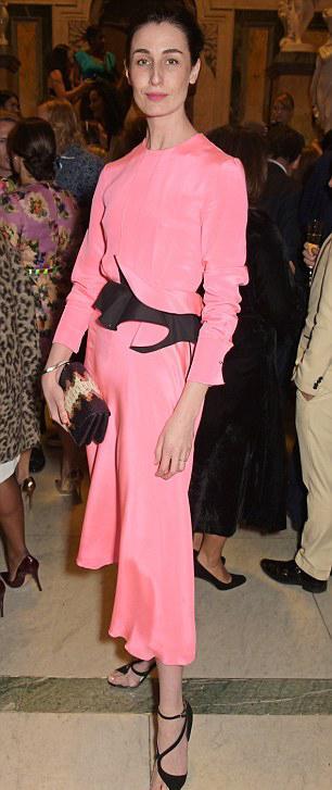 RT @RoksandaIlincic: .@erin_o_connor wearing the Roksanda SS15 Lorette dress to the #WIEawards http://t.co/zj4iN09jEx