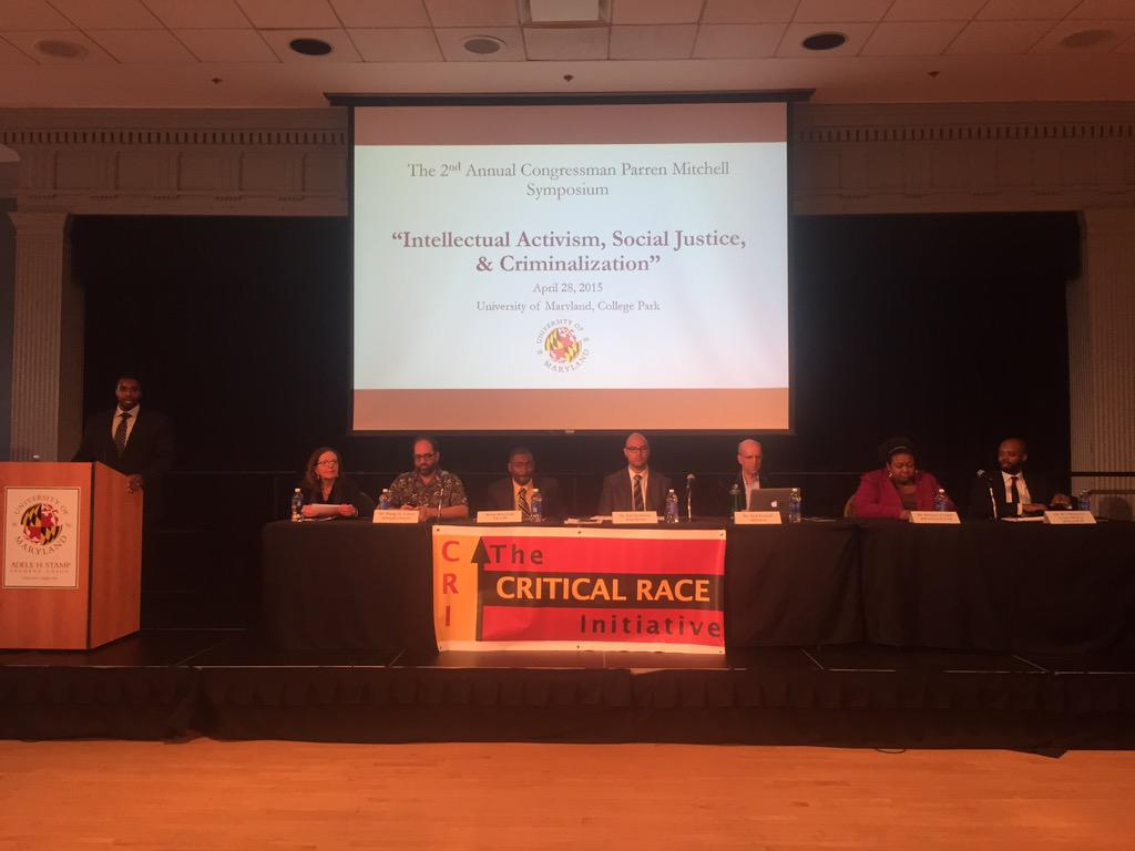 "It's time ""Intellectual Activism, Social Justice, & Criminalization"" #Parren15 http://t.co/j59lXmc0nY"