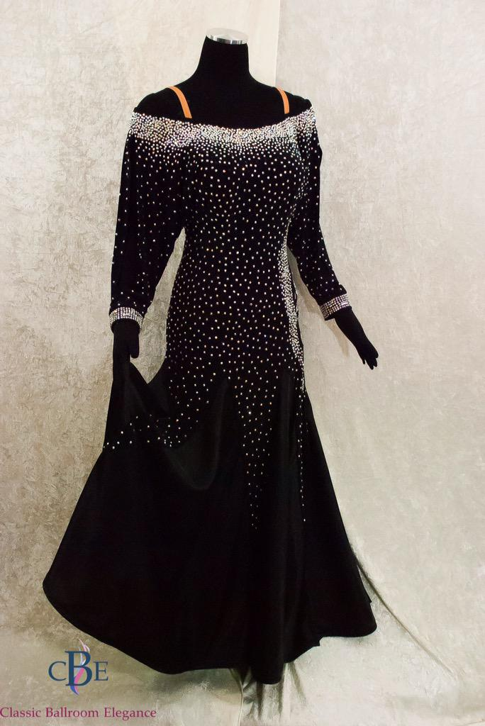 6851f5492032 Gorgeous New Smooth #Ballroom Dress Rental w/ over 10K Swarovski AB Stones:  http://cberentals.com/new-additions.html … #dancesport #Dancepic.twitter.com/  ...