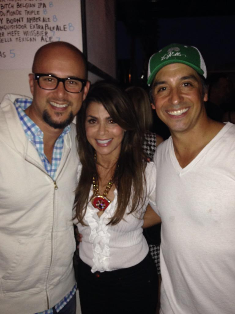 Another cool pic from the Dancers Reunion :)) w/ @crisjudd and Bryan Anthony. Great seeing you guys! xoP http://t.co/9h8kO7zBJW