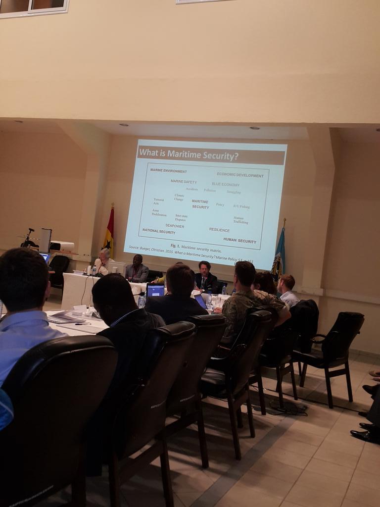 "Dr.Christian Bueger's presentation on ""Building Maritime Security Communities:..."" post-#Yaounde @WanjohiK @wacsi http://t.co/ix33SfUi8X"