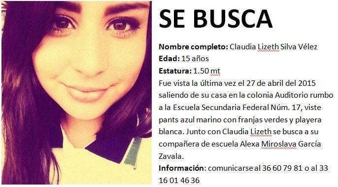 Ayuda para encontrar a Claudia @_EnGdl @EnGuadalajara Pls RT http://t.co/oN7QAHdHh9
