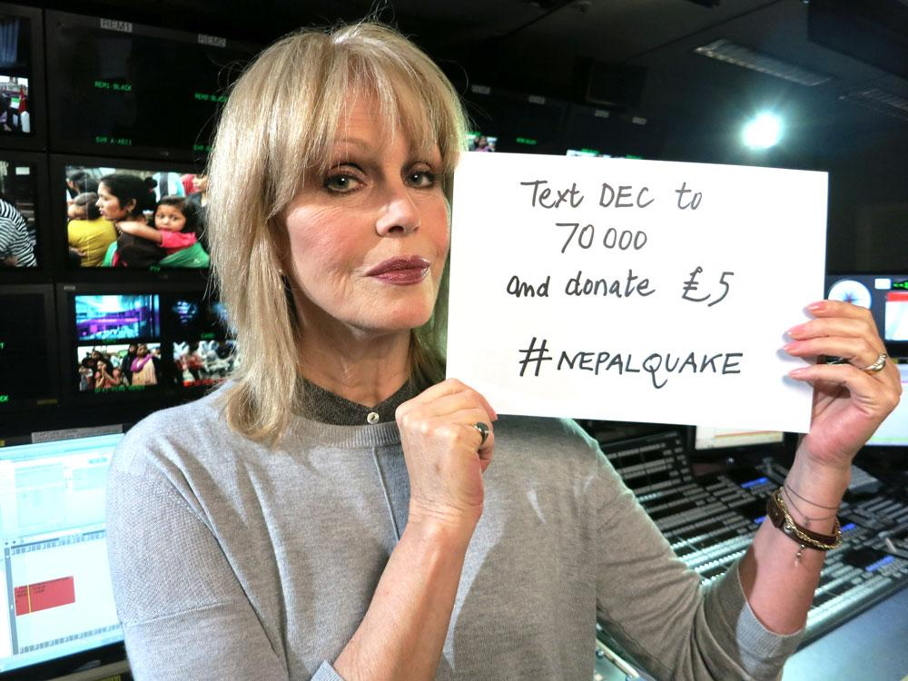 RT @decappeal: Watching #SkyNews tonight? Watch our appeal launch film for #NepalQuake with Joanna Lumley http://t.co/r3o1X0I5Wd http://t.c…