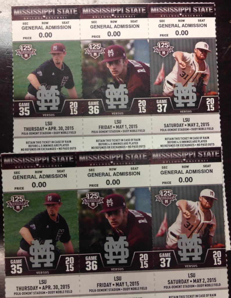 FOLLOW US & RETWEET this for a chance to win these @HailStateBB tickets for this weekend vs. No. 1 LSU! #HailState http://t.co/sMCaxq1q8g