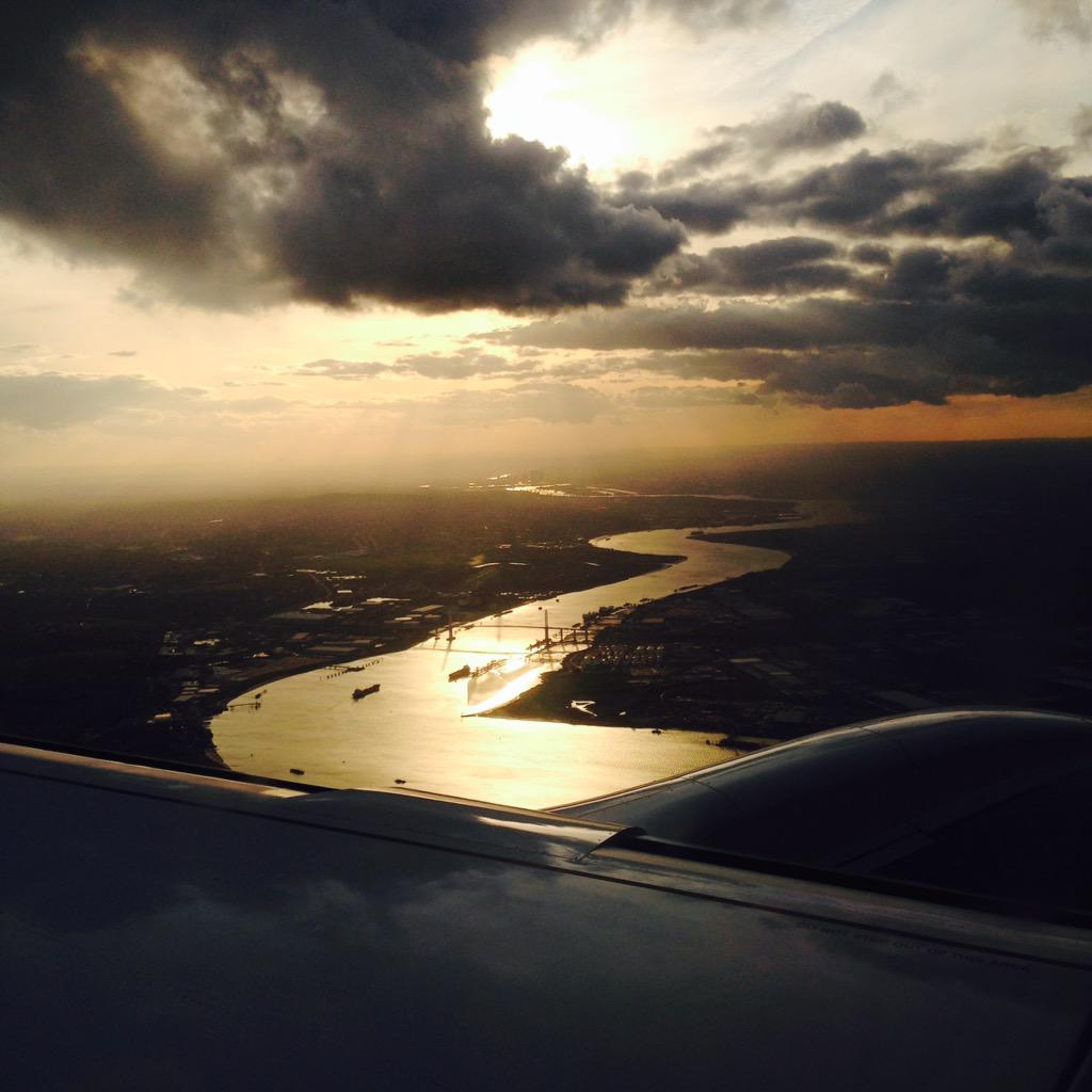 London. What a city. #ThisIsLondon  @LondonCityAir @British_Airways http://t.co/ecelBMU0mb