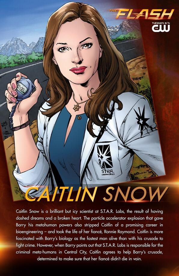 Who created Caitlin Snow on #TheFlash? According to @DCComics, nobody - http://t.co/Y7Mnplo2jy http://t.co/pFM8mXDmMQ