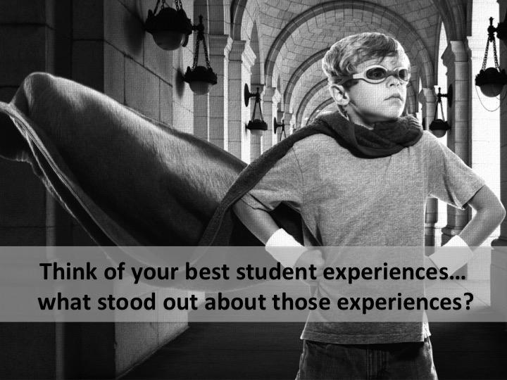 Q2: Think of when you have been a student... What do you remember most about that experience?? #profchat http://t.co/EftHXey09X