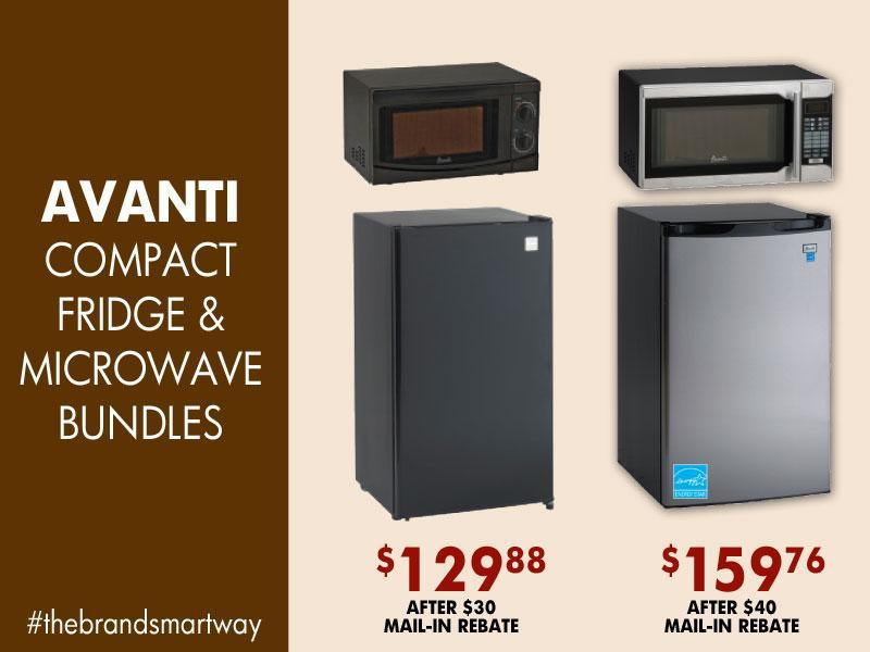 Brandsmart Usa On Twitter Mini Fridge Microwave Bundles A Match