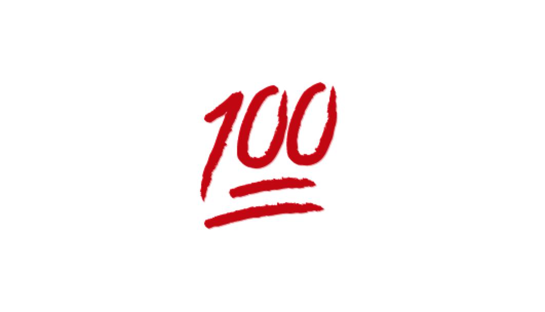 Farhad Manjoo On Twitter What Does That 100 Emoji Mean