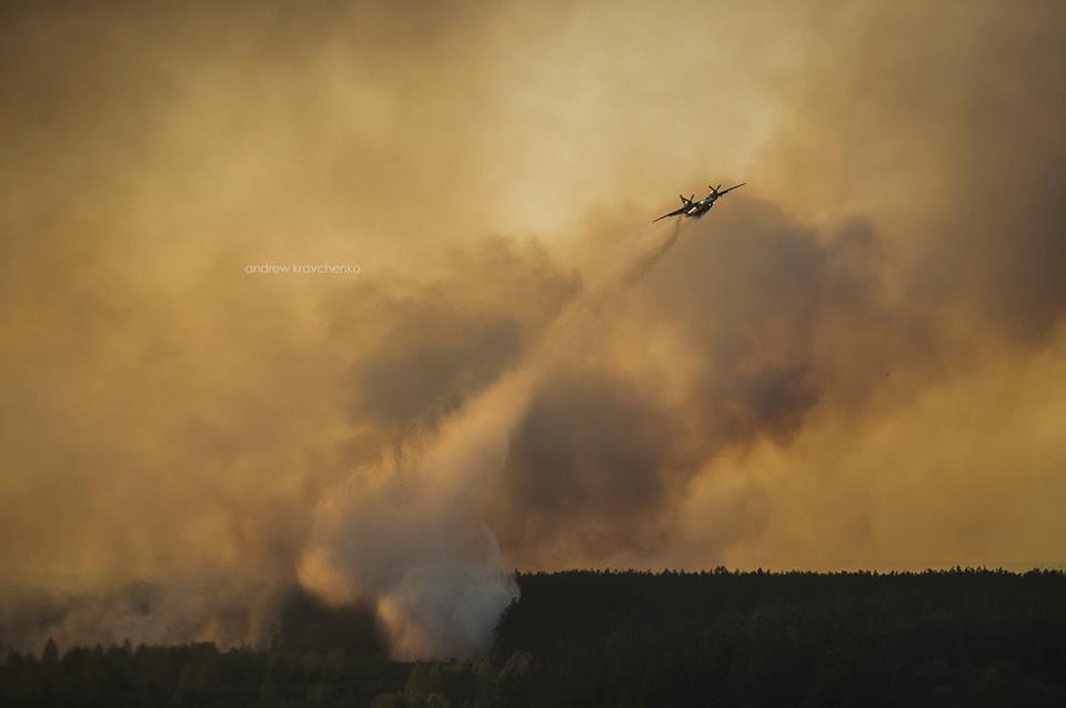 Фронт пожара возле ЧАЭС окружен и остановлен. Радиационный фон в норме, никаких угроз нет, - Шкиряк - Цензор.НЕТ 7792