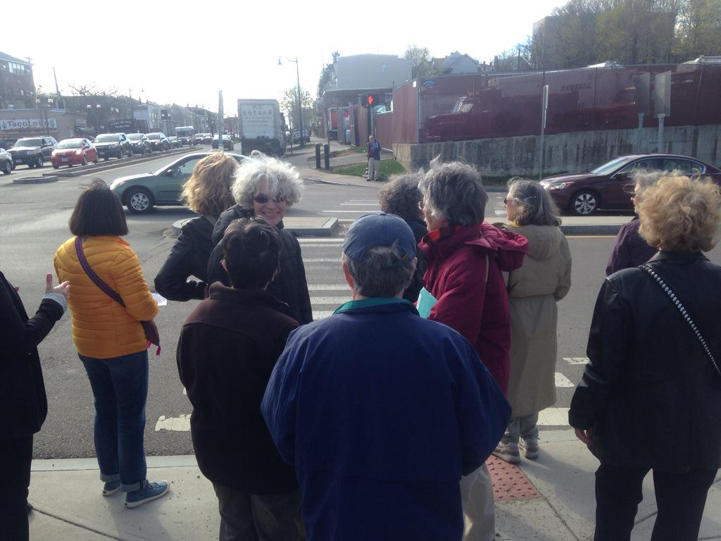 We are starting the #WalkTheVille here in #Somerville http://t.co/9cPBEaAPEu