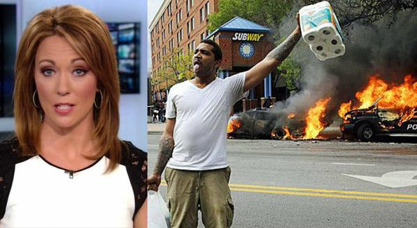 CNN Brooke Baldwin blames Baltimore Riots on Veterans 'Ready to Do Battle' VIDEO