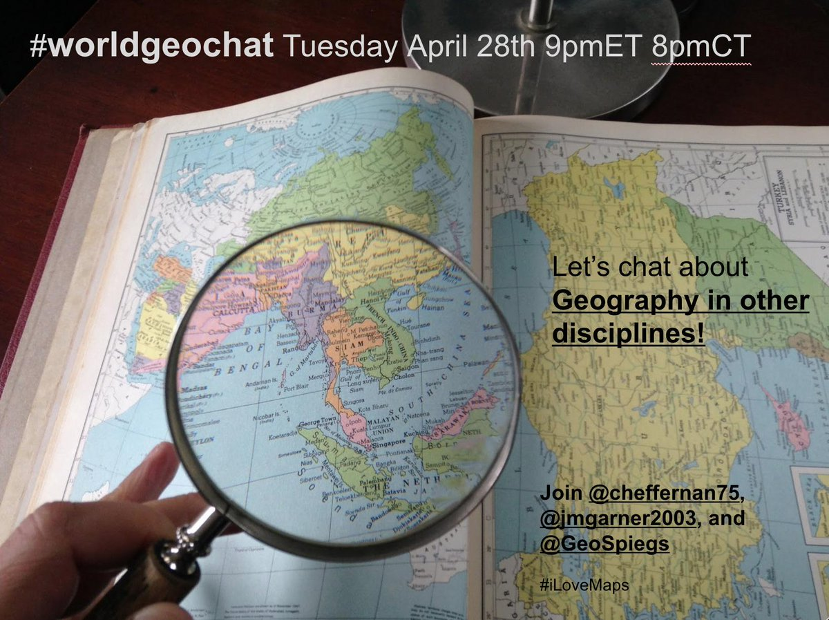 Thumbnail for #worldgeochat - Geography Across Disciplines