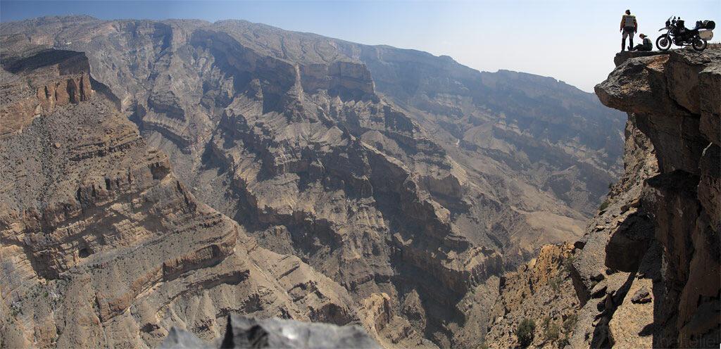 "Wadi an Nakhar meglio noto come ""Grand Canyon d'Arabia"" in Oman"