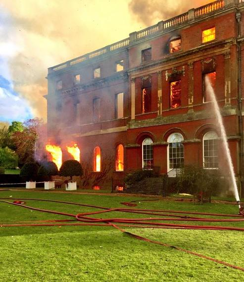 National Trust has said everyone who was in Clandon Park is safe. http://t.co/oJPRgHudAI http://t.co/iob9SQME3L