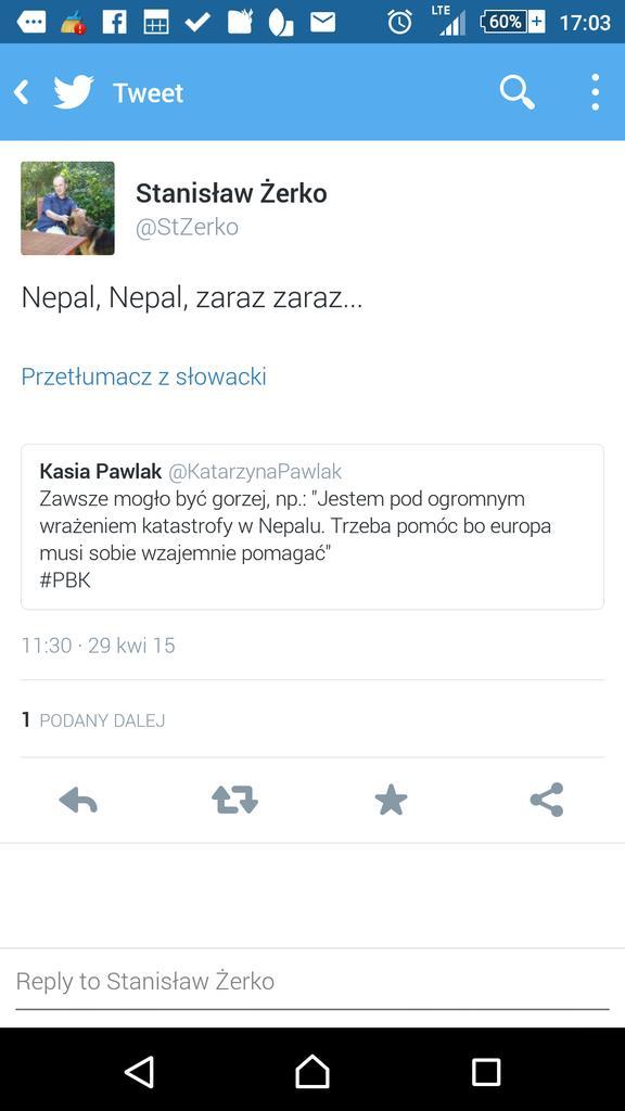 """Marek Duklanowski on Twitter: """"@StZerko @KatarzynaPawlak ale zeby ..."""