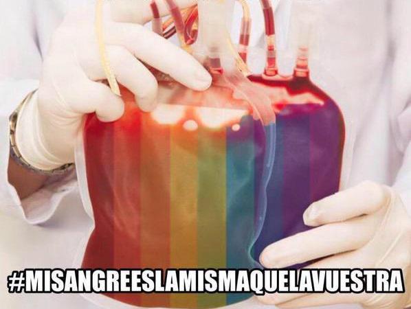 donar sangre gays