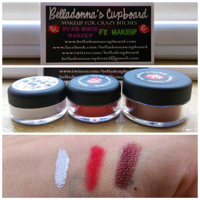 Picked up @BellaDCupboard for my shoot today! They are perfect! #vegan #crueltyfreemakeup #makeupforcrazybitches