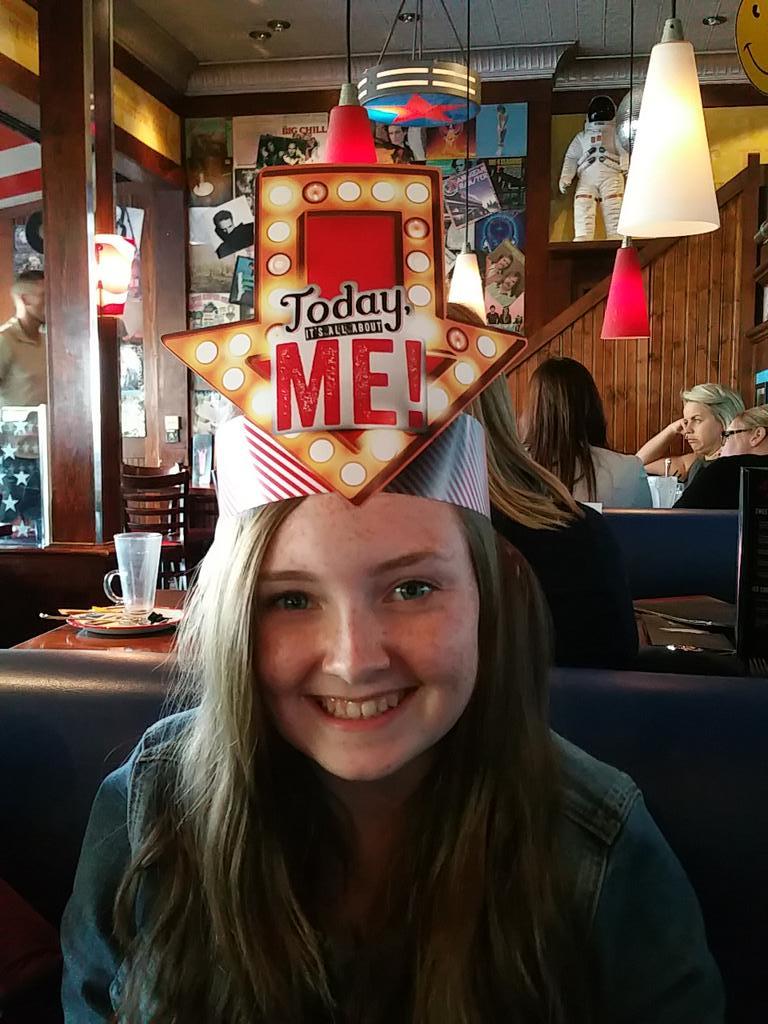 TGI Fridays UK On Twitter Samh2509 Happy Birthday Ellie The Big Question Though