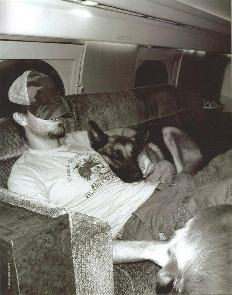 Napping with both my #dogs #tbt #ontheroad #touring #dog